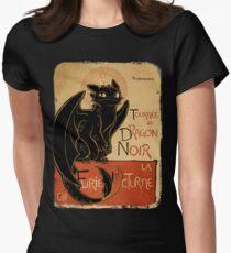 Le Dragon Noir T-shirt moulant femme