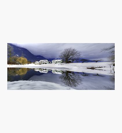 Percy Farm in Winter Photographic Print