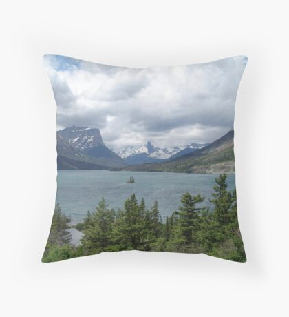 WILD GOOSE ISLAND - SWIFT CURRENT LAKE  Throw Pillow