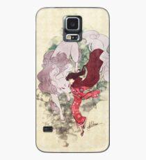 Funda/vinilo para Samsung Galaxy Perros salvajes y capas rojas