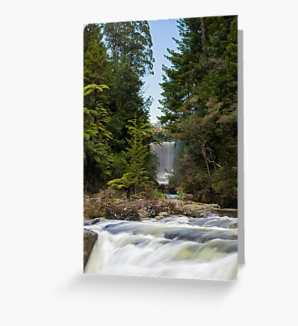 The other Mclaren Falls Greeting Card