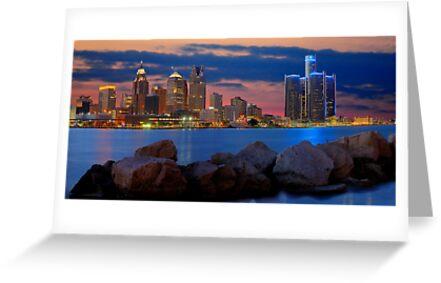 Glow of Detroit by Mark Bolen