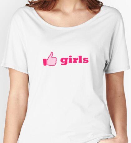 like girls Women's Relaxed Fit T-Shirt