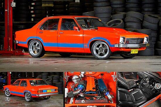 Darren Hawkins' 1JZ-powered Holden Torana - Poster by HoskingInd