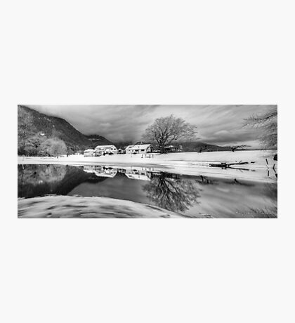 Percy Farm in Black and White Photographic Print