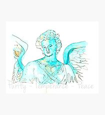 Bethesda ~Angel of the Waters Photographic Print