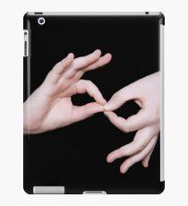 ASL sign language iPad Case/Skin