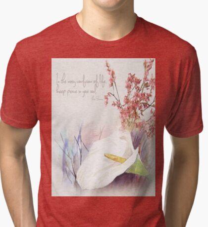 Halte Frieden in deiner Seele Vintage T-Shirt