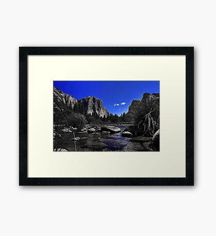 River View Framed Print