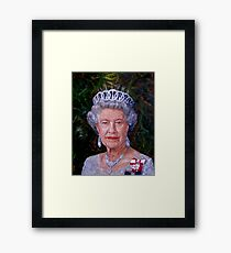 HM The Queen Framed Print