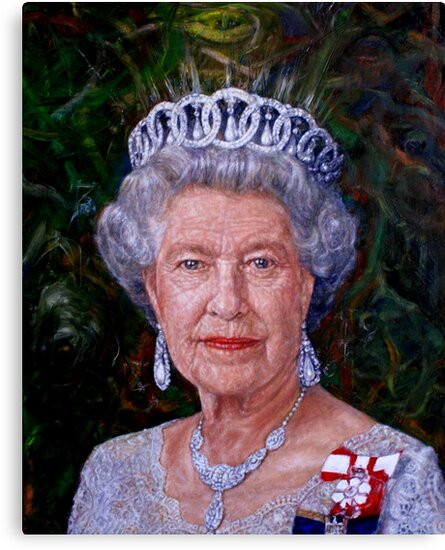 HM The Queen by Edward Ofosu
