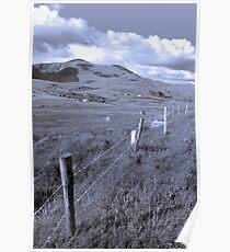 beautiful lush fields of ireland Poster