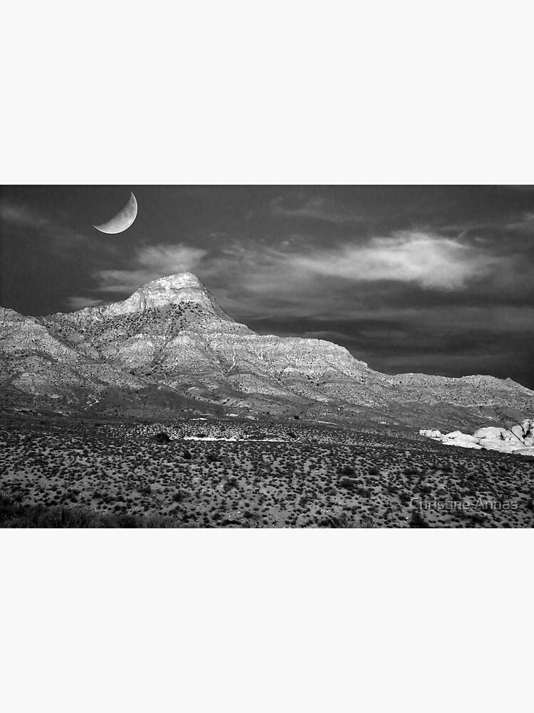 Red Rock Canyon in B&W by 2Bricks