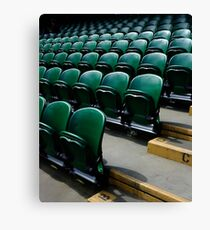 Wimbledon Green Canvas Print