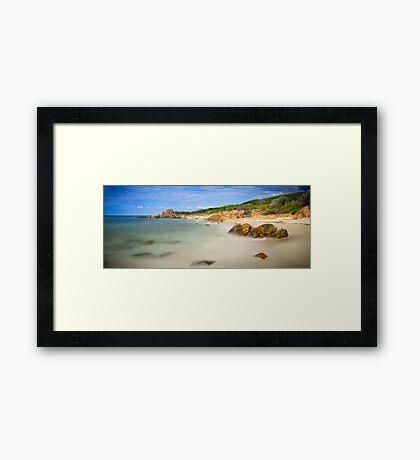 Castle Bay, Western Australia Framed Print