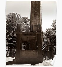 Lookout Tower. Poster