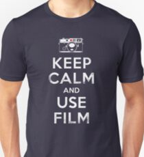 Keep Calm And Use Film Unisex T-Shirt