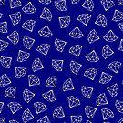 Navy Blue Diamond Pattern by YingDude