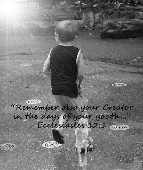 """""""Ecclesiastes 12:1""""  by Carter L. Shepard by echoesofheaven"""
