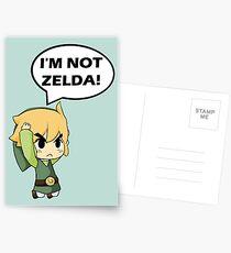 Je ne suis pas Zelda Cartes postales
