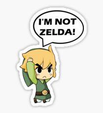 Je ne suis pas Zelda Sticker