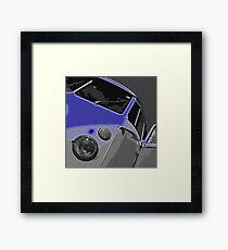 VW Split Screen Blue Framed Print