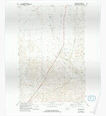 USGS Topo Map Washington State WA Bluestem 240130 1969 24000 Poster