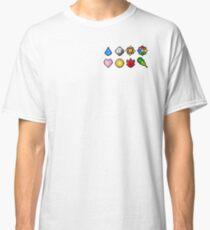 Pokemon Badge Sprites (Kanto Only) Classic T-Shirt