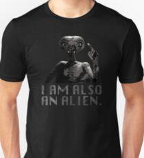 """Lisbeth's """"I AM ALSO AN ALIEN."""" T-Shirt T-Shirt"""