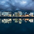 Dublin Docklands, Ireland by Alessio Michelini