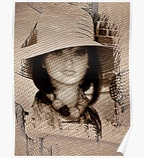Lady in the Mesh Poster