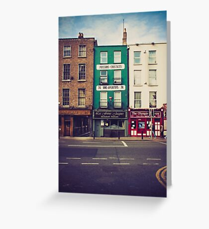 Dame Street, Dublin Greeting Card