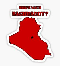 Who's Your Bagdaddy? (Red) Sticker