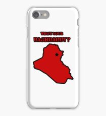 Who's Your Bagdaddy? (Red) iPhone Case/Skin