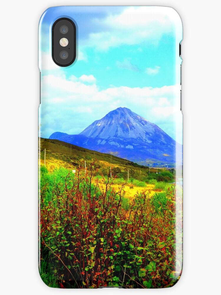 Mount Errigal iPhone Case by Fara