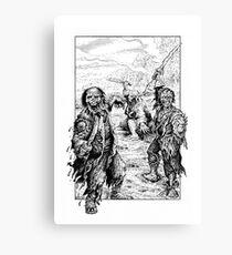 Zombie Pirates Canvas Print