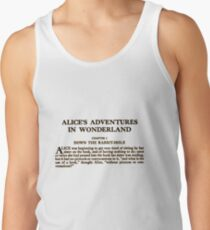 Alice In Wonderland Tank Top