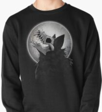 Skull Wolf Howl Pullover