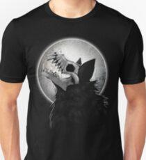 Skull Wolf Howl Slim Fit T-Shirt