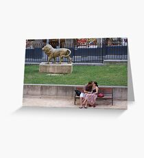 French Lovers Greeting Card