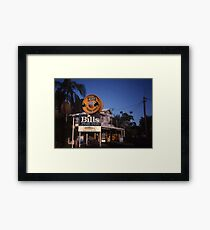 Big Reel, Maroochydore, Queensland, Australia 2000 Framed Print
