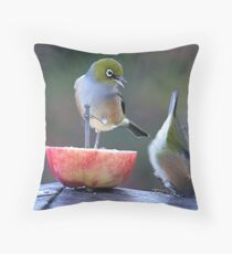 I told you to hang on tight..........! Throw Pillow