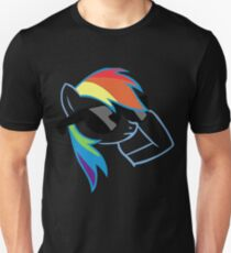 Rainbow Dash Don't Care Unisex T-Shirt