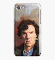 Sherlock Study iPhone Case/Skin