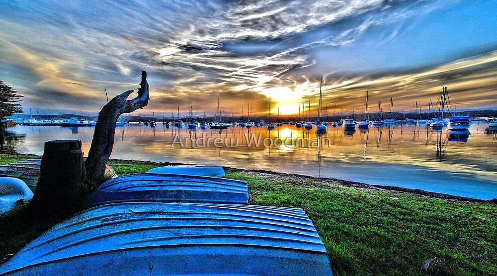 Valentine Sunset II by Andrew Woodman