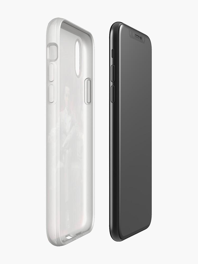 Alternative Ansicht von Jim Moriarty iPhone-Hülle & Cover
