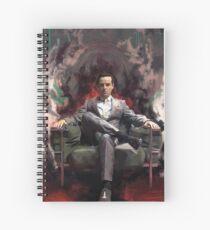 Jim Moriarty Spiral Notebook