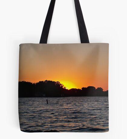 Twilight Oasis Tote Bag