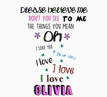 One Direction - Olivia Unisex T-Shirt