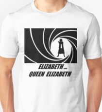 007 & Her Majesty T-Shirt